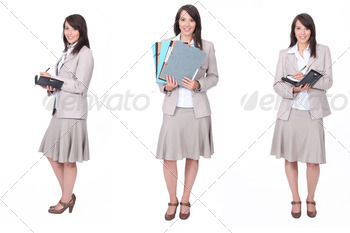 Busy businesswoman - PhotoDune Item for Sale