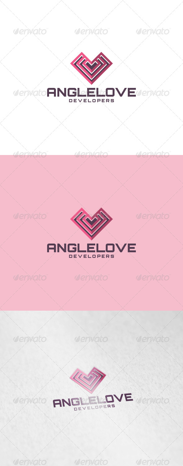GraphicRiver Angle Love Logo 6913072