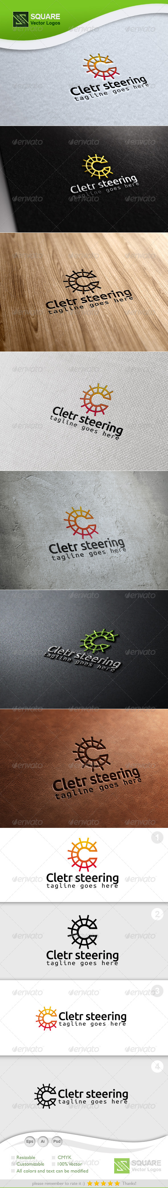 GraphicRiver C Steering Vector Logo Template 6913541