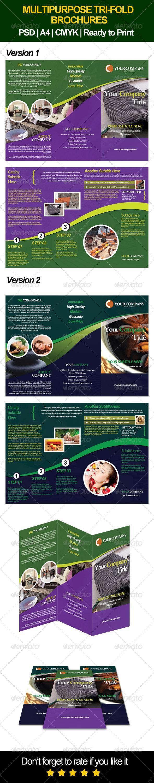 GraphicRiver Multipurpose Brochure 6897951