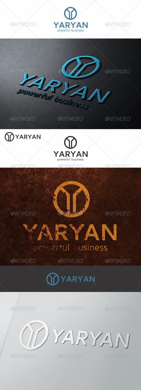 GraphicRiver Y Letter Logo Symbol 6913640