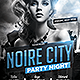 Noire City Party Flyer Template - GraphicRiver Item for Sale