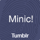 Minic - Responsive Minimal Tumblr Blog Template - ThemeForest Item for Sale