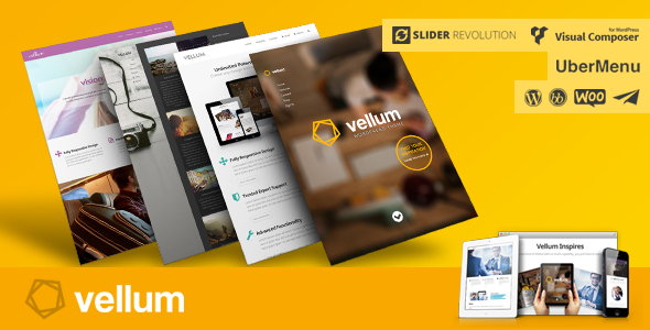 Vellum - Responsive WordPress Theme