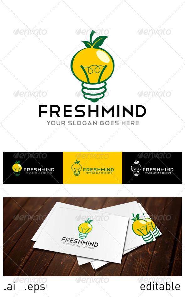 GraphicRiver Fresh Mind Logo Template 6914413