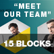 15 Blocks - Meet Our Team - GraphicRiver Item for Sale