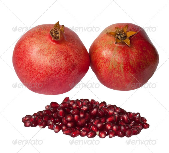 Pomegranate - Stock Photo - Images