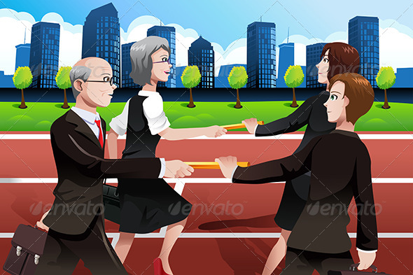 GraphicRiver Business Teamwork Concept 6916331