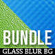 24 Glass Smooth Blur Background Bundle - GraphicRiver Item for Sale