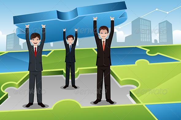 GraphicRiver Business Teamwork Concept 6917135
