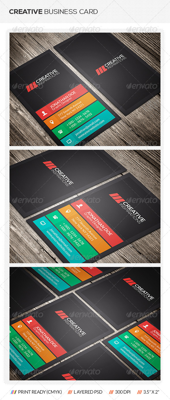 GraphicRiver Creative Business Card 6917483