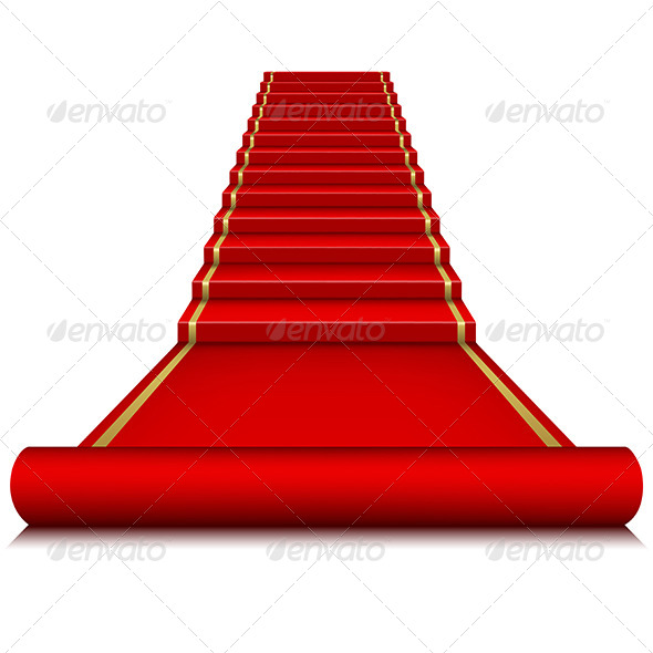 GraphicRiver Red Carpet with Ladder 6920237