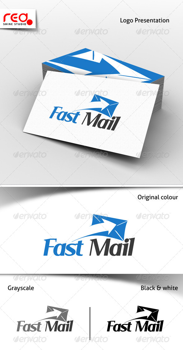 GraphicRiver Fast Mail Logo Template 6920404