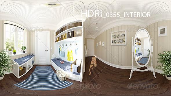 3DOcean 0355 Interoir HDR 6921045