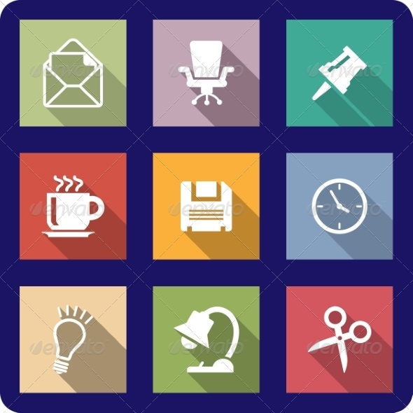 GraphicRiver Office Icons 6921186