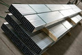 sheet metal profiles in production hall - PhotoDune Item for Sale