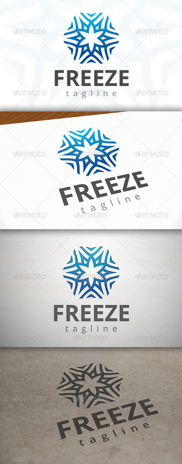 GraphicRiver Freeze Logo 6923370