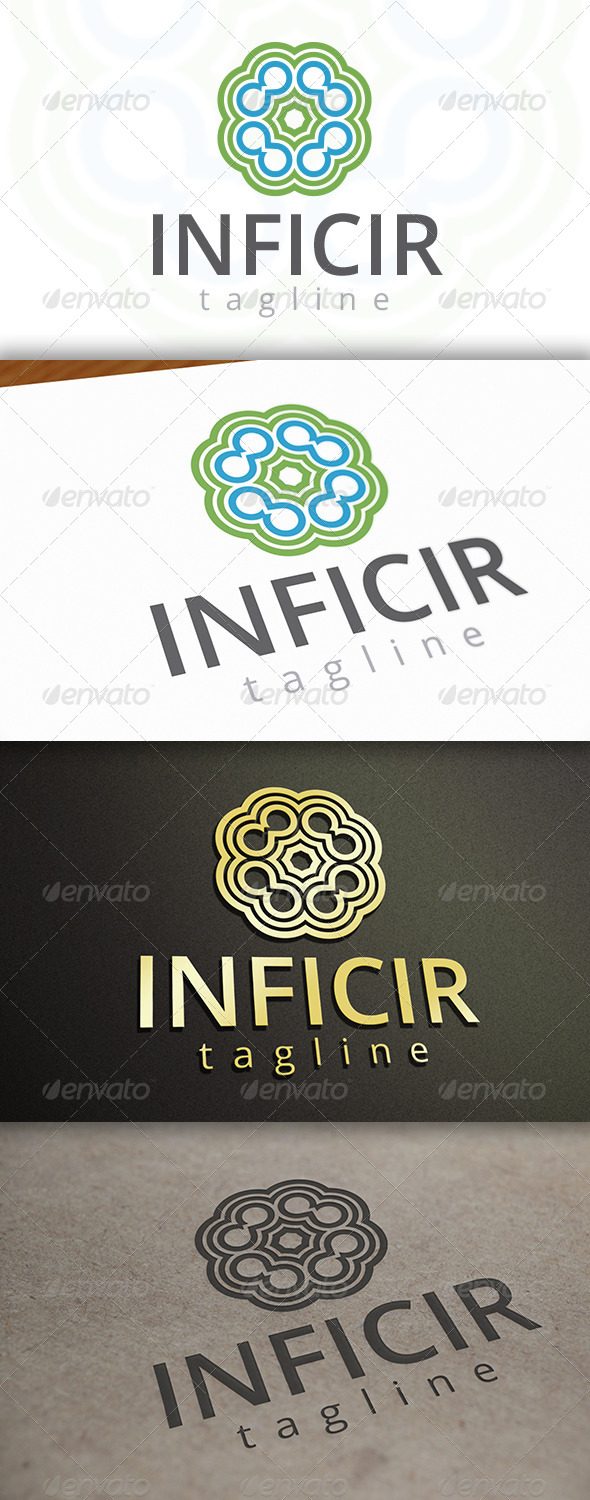 GraphicRiver Infinite Circles Logo 6924623