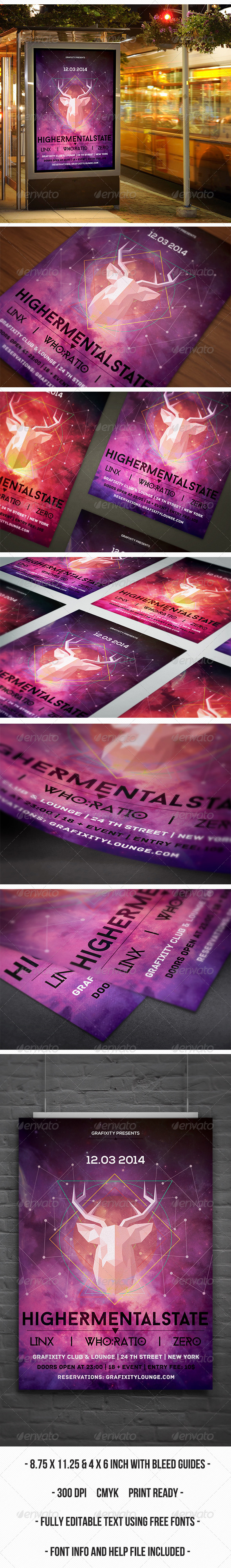 GraphicRiver Futuristic Poster Flyer vol.1 6925317