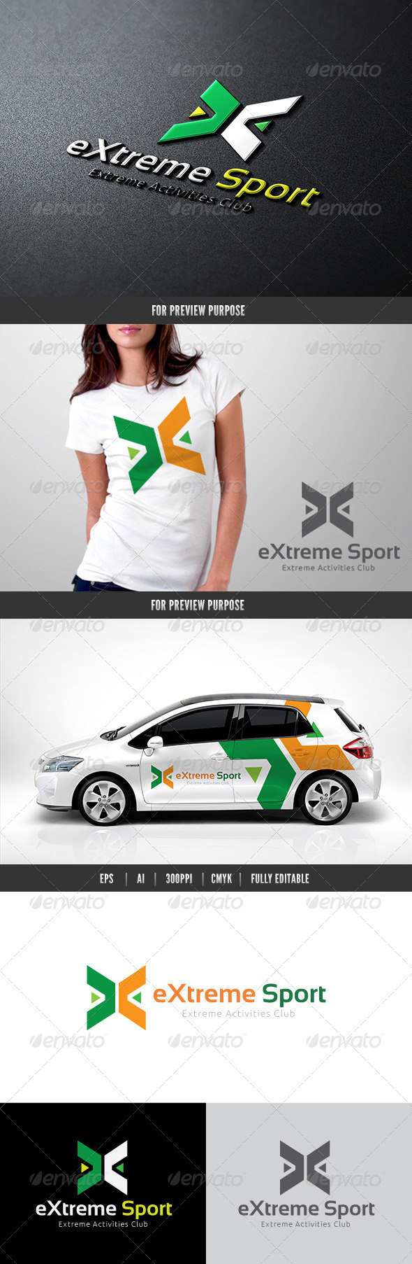GraphicRiver Extreme Sport 6926092
