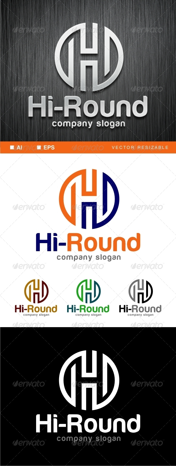 GraphicRiver H Letter Logo Template 6926104