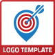 Location Target Bullseye Logo - GraphicRiver Item for Sale