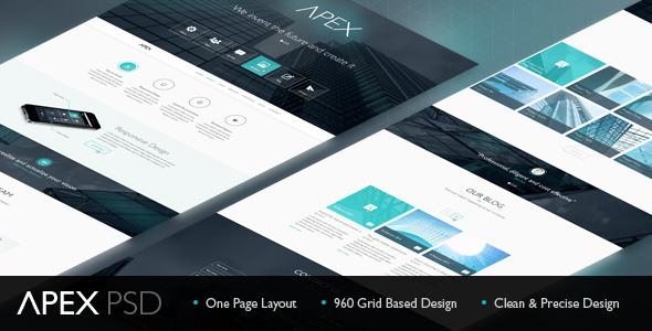 ThemeForest Apex PSD Theme 6914594