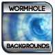 Space Wormhole Backgrounds - GraphicRiver Item for Sale