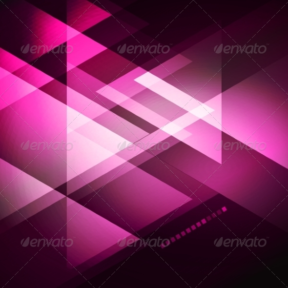 GraphicRiver Elegant Geometric Purple Background 6927061