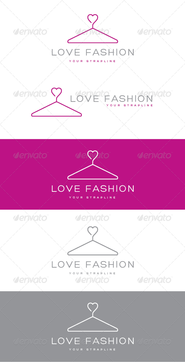 GraphicRiver Love Fashion Logo 6928762