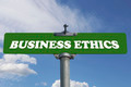 Business ethics road sign - PhotoDune Item for Sale