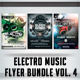 Electro Music Flyer Bundle Vol. 4 - GraphicRiver Item for Sale
