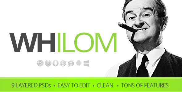 Whilom PSD Template