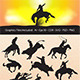 Rodeo Silhouettes - GraphicRiver Item for Sale