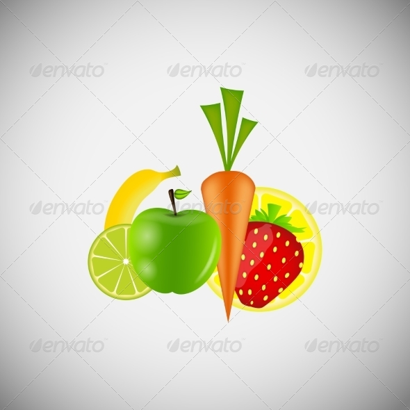 GraphicRiver Fruit and Vegetables 6933891