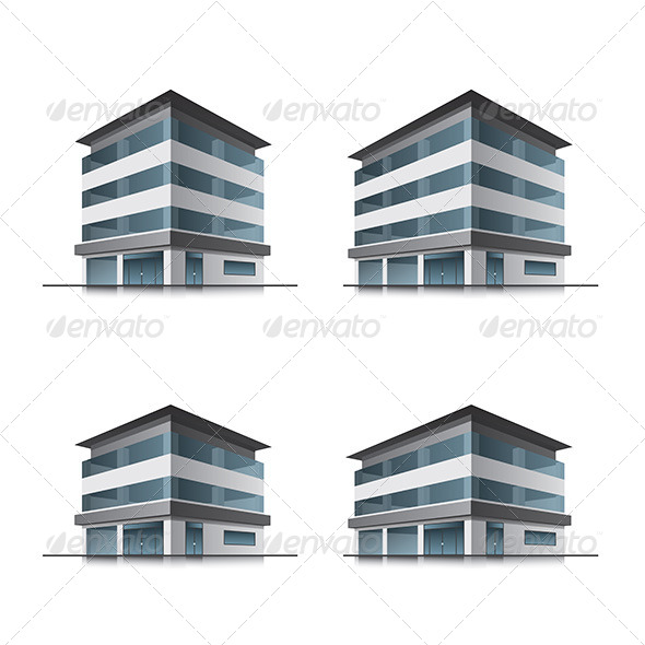 GraphicRiver Hotel or Office Buildings 6934292