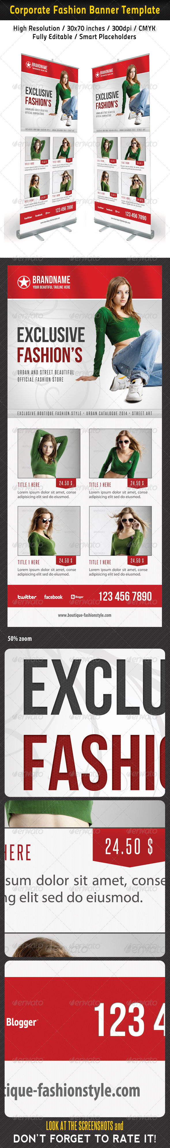 GraphicRiver Fashion Multipurpose Banner Template 33 6935755