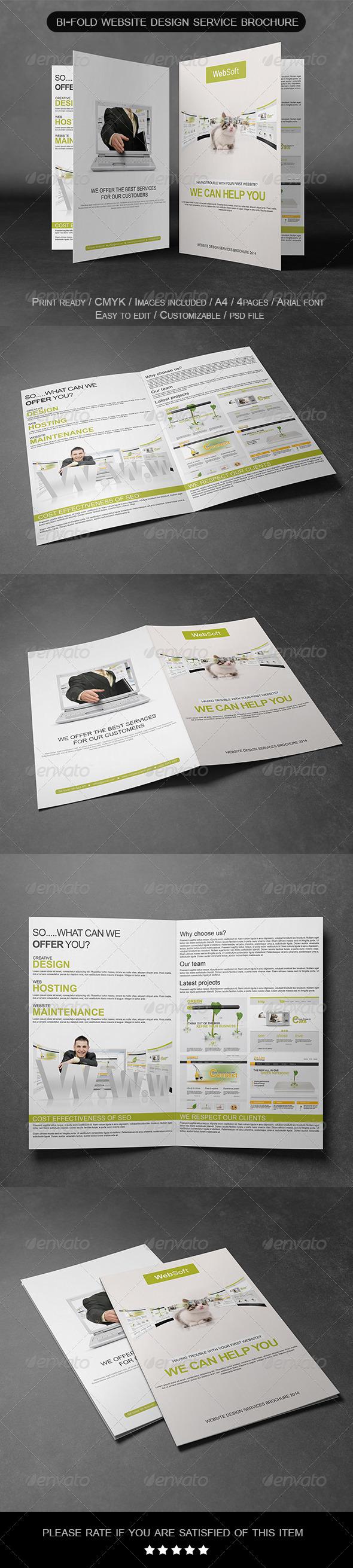 GraphicRiver Bi-Fold Service Brochure 6936532