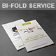 Bi-Fold Service Brochure - GraphicRiver Item for Sale