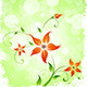 Grungy Flower Background - GraphicRiver Item for Sale