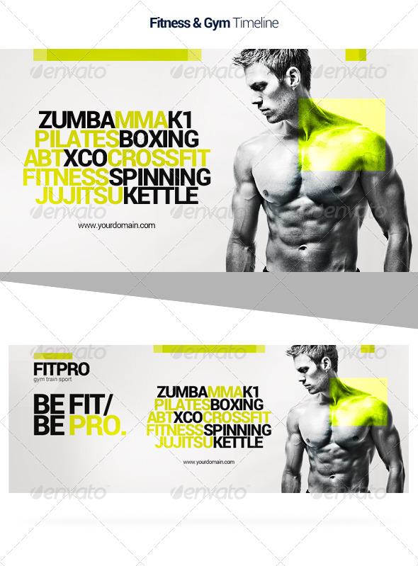 GraphicRiver Fitness Timeline 6934412