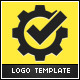 Gear Check Logo Temlate - GraphicRiver Item for Sale