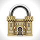 Castle Padlock - GraphicRiver Item for Sale