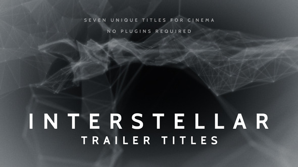 Interstellar Trailer Titles (Titles)