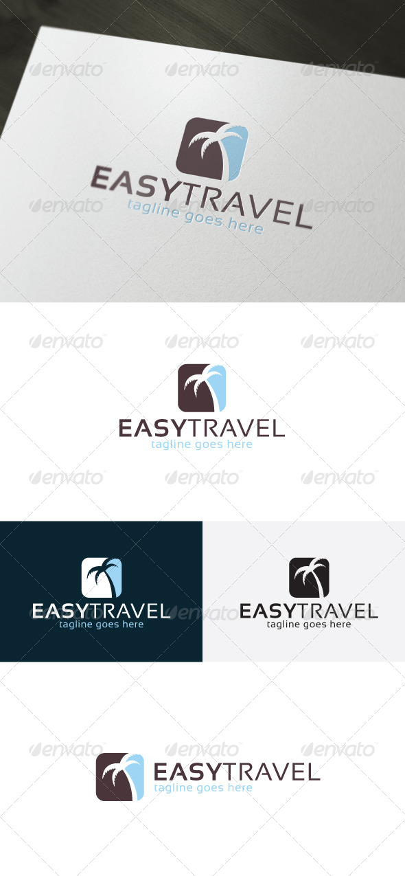 GraphicRiver Easy Travel Logo 6941971