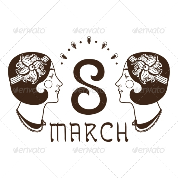 GraphicRiver 8 of March Date 6942370