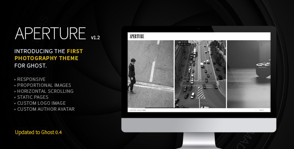 Aperture - The First Photography Theme for Ghost - Ghost Themes Blogging