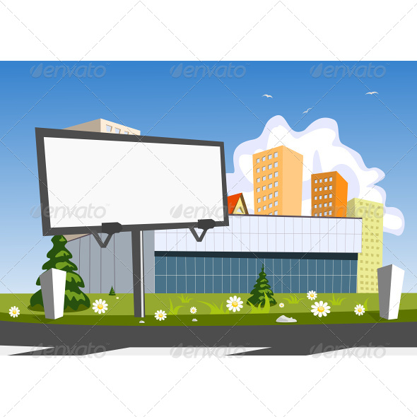 GraphicRiver Billboard Advertising and Store 6942547