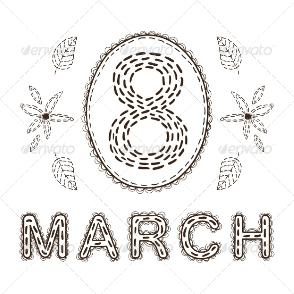GraphicRiver 8 of March Date 6942629