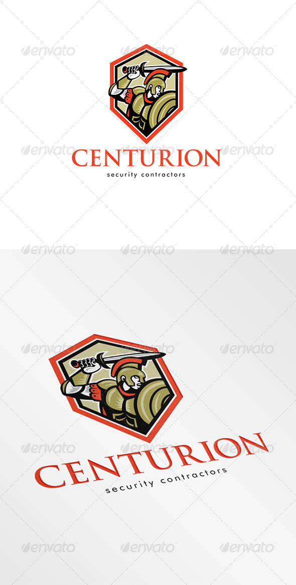 GraphicRiver Centurion Security Contractors Logo 6943893